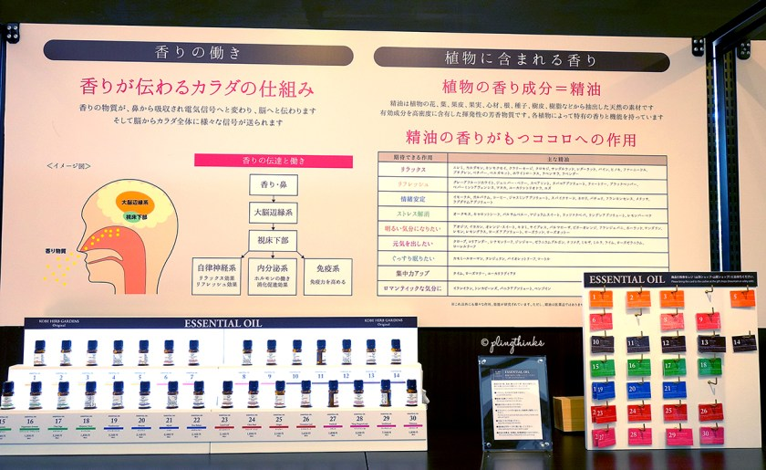 Essential Oils - Fragrance Museum at Kobe Nunobiki Herb Gardens