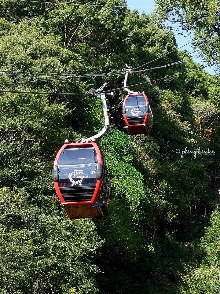 Kobe Nunobiki Herb Garden - Ropeway Cable Car
