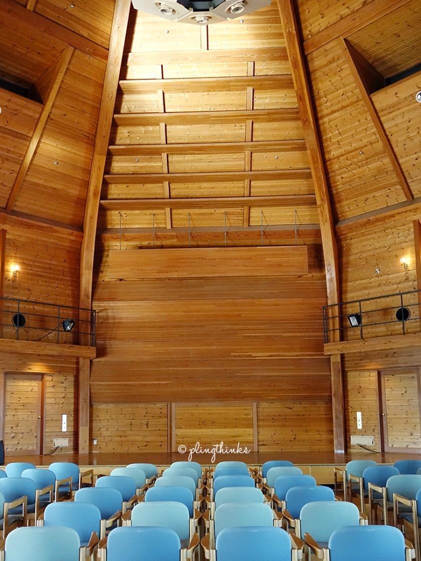 Wooden Concert Hall - Kobe Nunobiki Herb Gardens