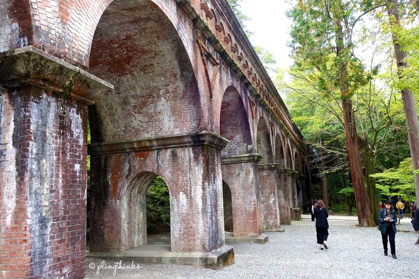 Aqueduct Kyoto - Nanzenji Temple Suirokaku