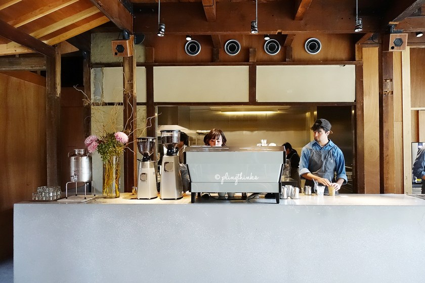 Blue Bottle Coffee Kyoto Cafe - Barista Area for Espresso