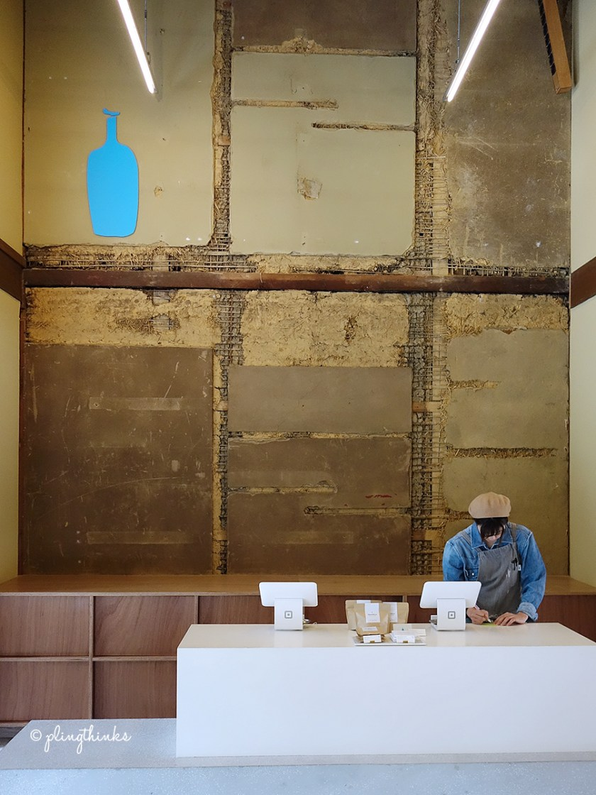 Blue Bottle Coffee Kyoto Cafe - Shop Clay Walls