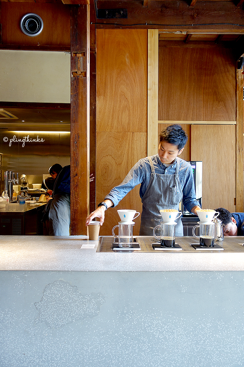 Blue Bottle Kyoto - Drip Coffee Pourovers