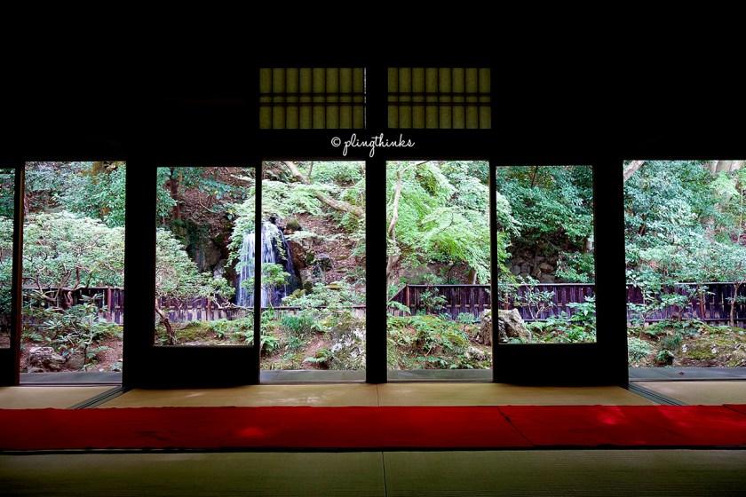 Hojo Garden Tea Room - Nanzenji Temple Kyoto