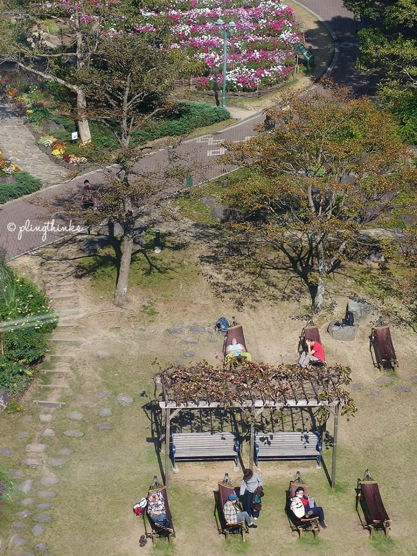 Kobe Nunobiki Herb Gardens - Hammocks