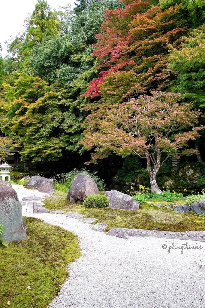 Nanzenji Temple Autumn - Hojo Garden