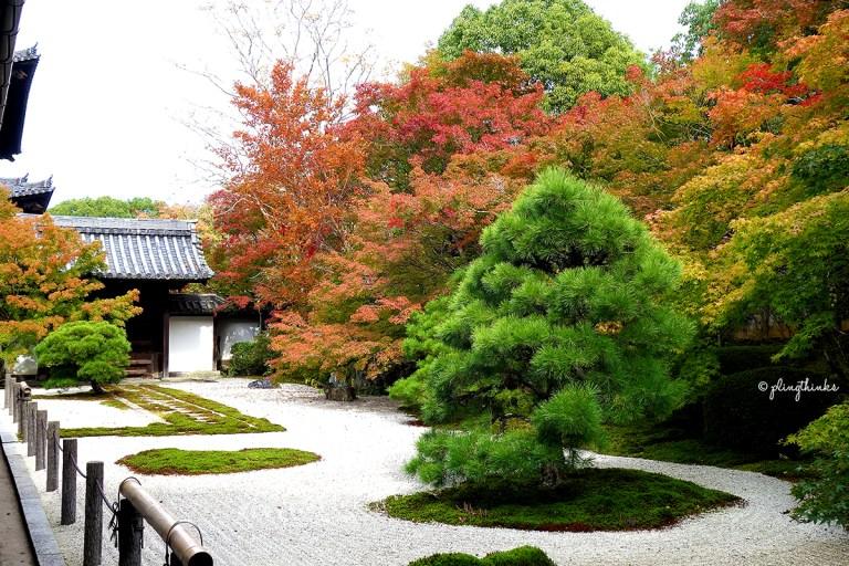 Tenjuan Garden Nanzenji Temple - Kyoto Autumn