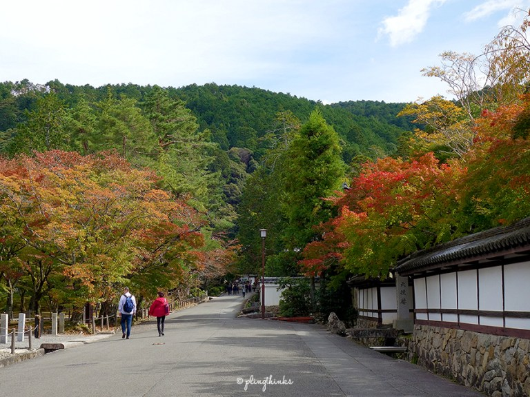 nanzenji temple entrance - autumn