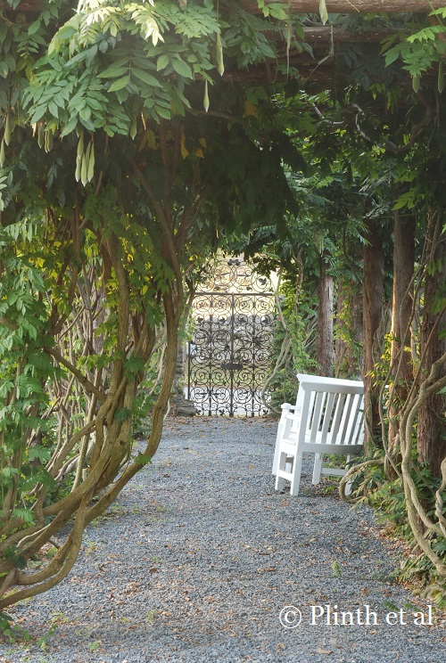 Garden Architecture Wisteria Arbor Glwsketchworks Japanese Tea