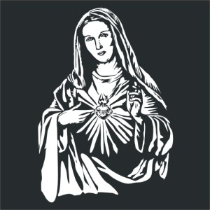 madonna z sercem