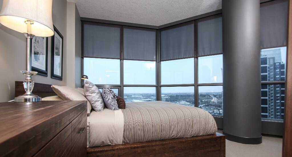 Keynote-condo-bedroom-victoria-park-beltline-calgary-real-estate-plintz