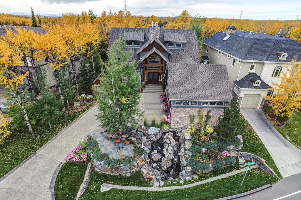 Luxury-landscaping-40-Wentwillow-lane-SW-west-springs-real-estate-for-sale-plintz-Realtor-calgary