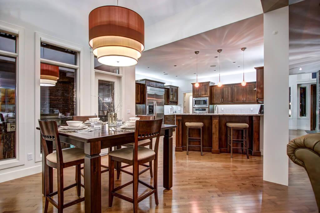 Breakfast-nook-40-Wentwillow-lane-SW-west-springs-real-estate-for-sale-plintz-Realtor-calgary-sothebys-Luxury