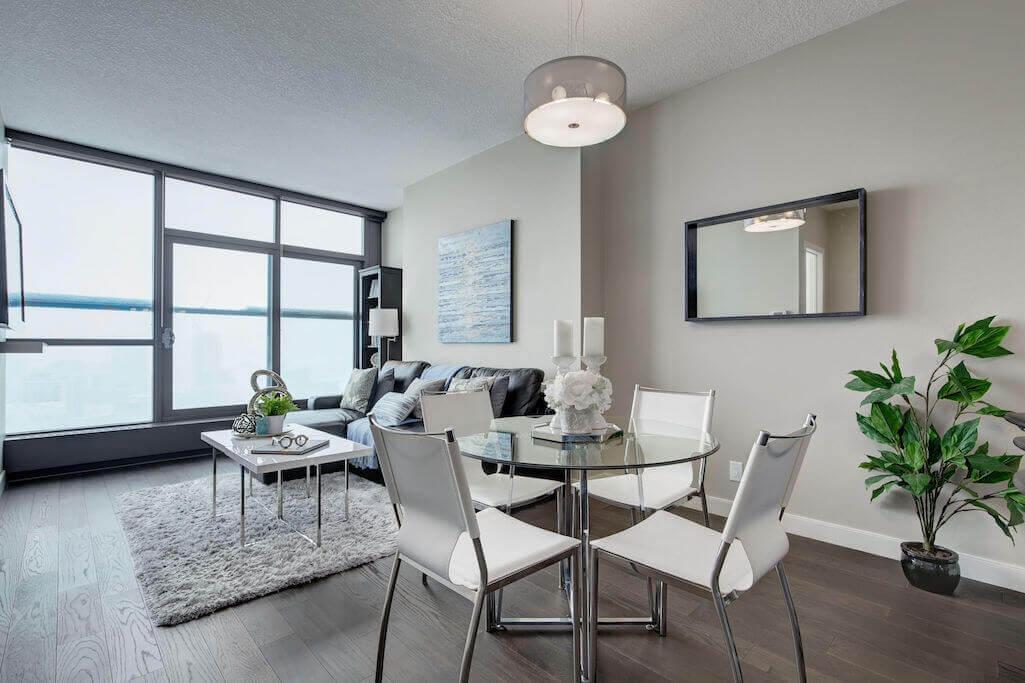 open-concept-2402-225-11-Avenue-SE-Keynote-Condo-Victoria-Park-Beltline-Calgary-Real-Estate-Plintz-Realtor-Luxury
