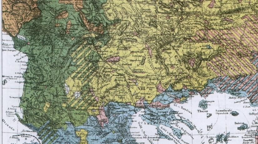 Hartë etnike e Ballkanit, 1882 (qethë)