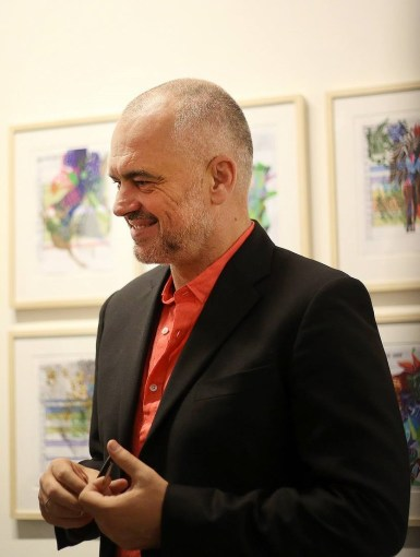 Edi Rama në Berlin, 2015 (Edi Rama Press, CC BY-SA 4.0)