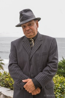 "Cheech Marin doing his ""Silvio"" of the Sopranos impression"