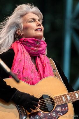 Emmylou Harris at the Hardly Strictly Bluegrass festival in San Francisco's Golder Gate Park. October 2010.