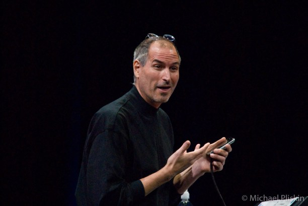 Steve Jobs introduces the iPhone to the world at his Keynote - MacWorld 2007.