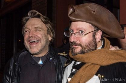 John Perry Barlow and Raines Cohen at MacWorld 2007