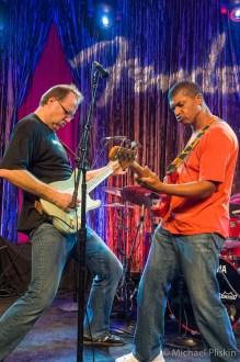 Greg Koch, Reggie Hamilton @ Fender