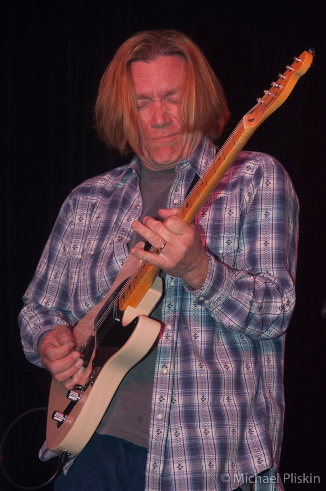 Legendary guitarist G.E. Smith performs at Fender VIP party at NAMM 2007