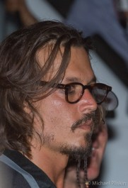 """Johnny Depp, during filming ot """"Pirates of the Caribbean 3"""" movie."""