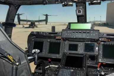 V-22 Osprey cockpit