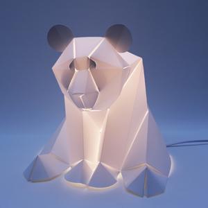 panda carré éclairé 300×30072 dpi