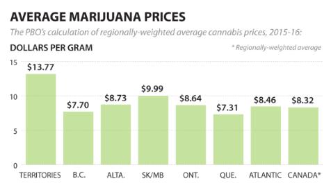Buying vs Growing Cannabis - Average Marijuana Prices