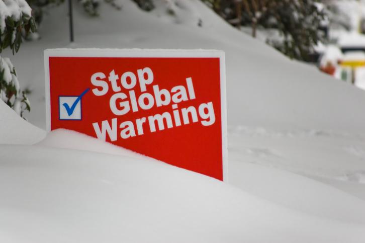 Global Warming sign