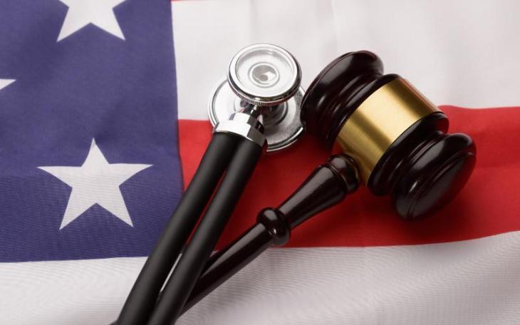 flag stethoscope gavel