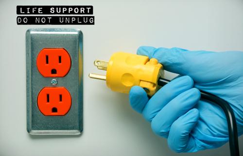 Life support plug