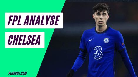 FPL Pre season analyse - Chelsea