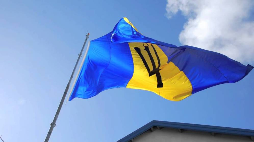 Barbados Independence Flag