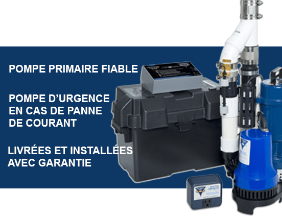 Pompe submersible puisard sump pump