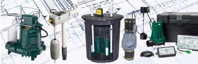HYDROMINI, il suffit dun branchement électrique et de deux pour une installation en petit puisard.