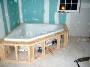 installer poser une baignoire