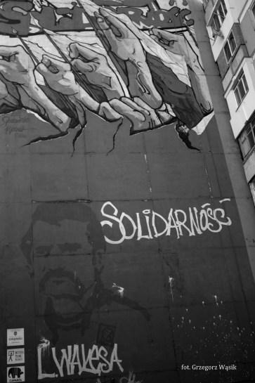 mural - Solidarność
