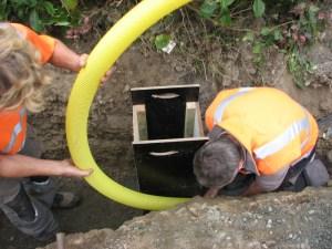 Création d'eau pluviale