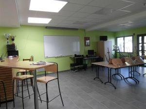 Sapeurs-Pompiers de Plonéour-Lanvern : la salle de réunion