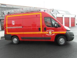Sapeurs-Pompiers de Plonéour-Lanvern : Véhicule Tous Usages (VTU)