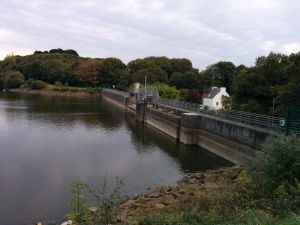 Le barrage du moulin neuf le 23/10/2016