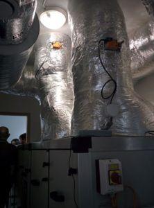 """La ventilation double flux est le """"poumon"""" du siège de la CCHPB"""