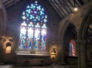 Nouveaux vitraux à la Chapelle Saint Philibert de Lanvern
