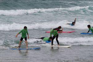 Surf à l'accueil de loisirs de Plonéour-Lanvern