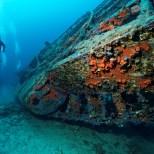 Kroatien, Peljesac, Zuljana, Tauchen, S-57 Schnellboot Wrack, Ute