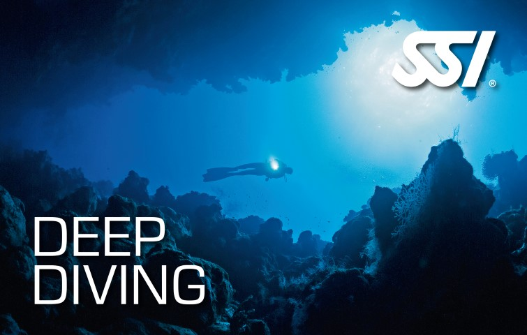 SSI - Deep Diving specialty certification card