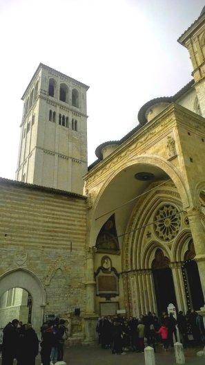 Bazylika Dolna/basilica inferiore
