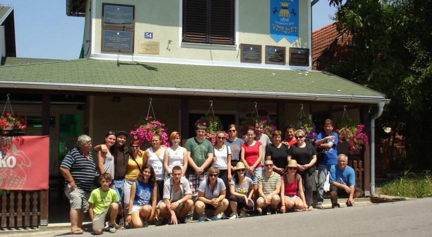 Mali raj – radna akcija volonera iz Nizozemske, Njemačke, Srbije, i Hrvatske